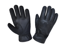 Men's Black Motorcycle Gloves With DuPont™ Kevlar™ lined palm 8163