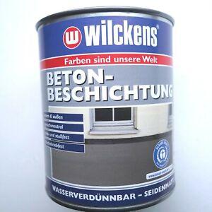 Wilckens Betonbeschichtung  Beton + Estrich - Farbe 0,75L innen + außen