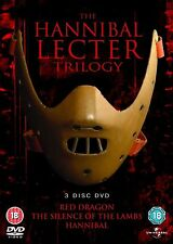 HANNIBAL LECTOR Trilogy Complete Movie DVD Boxset Brand New and Sealed