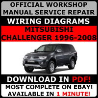 # OFFICIAL WORKSHOP Service Repair MANUAL MITSUBISHI CHALLENGER 1996-2008 #