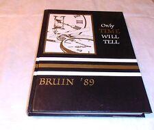 VINTAGE 1989 BONNABEL BRUINS  HIGH SCHOOL YEARBOOK METAIRIE LA.