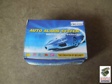 Auto Alarm System UNIVERSAL Alarmanlage Hupe Sirene 12Volt