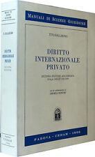 BALLARINO Diritto internazionale privato 2^ ediz. aggiornata CEDAM 1996