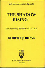 Fiction: THE SHADOW RISING by Robert Jordan. 1992. Uncorrected proof.