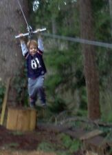 200' Zip Line Kit, Trolley, Cable Ride, High Quality Zipline, 12th Year on Ebay!