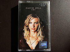 Faith Hill - Cry AUDIO CASSETTE TAPE New, Sealed, BG edition Rare Out of Print