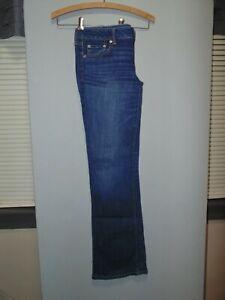 American Eagle Jeans ~ Size 10 Long ~ Favorite Boyfriend Stretch ~ 34 x 33 ~