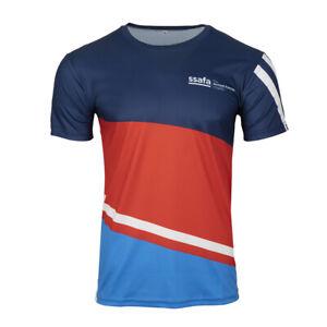 Technical Active Wear Crew Neck Short Sleeve T Shirt SSAFA Running Gym Sports