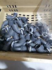 100 Pièce Nylon 6,3 mm rouge plat steckhülsen Connecteur Câble Chaussures vollisoliert