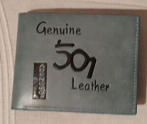 PORTEFEUILLE 501 en cuir véritable