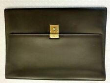Document Holder Vintage Brand Prentice Leather