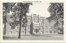 Nevada Hospital in Nevada MO Postcard