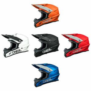ONeal 1 Series Motocross Helmet MX Enduro Off Road Atv O Neal Racing Crash Lid