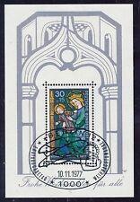 Gestempelte Briefmarken aus Berlin (1980-1990) mit Feiertags-, Weihnachts-Motiv