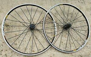 "Mavic Crossride Disc 26"" Mountain Bike Wheels Wheelset"