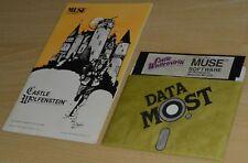 CASTLE WOLFENSTEIN by Muse ~ APPLE II Plus 48K ~ FOLDER/MANUAL + DISK ~ english