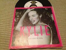 "KYLIE MINOGUE - SPANISH 7"" SINGLE SPAIN PROMO WHAT KIND OF FOOL - PWL 92"