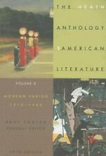 The Heath Anthology Of American Literature: Modern Period 1910-1945