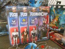 Robocop LOT 3 Figurines Super 7 ReAction 3 Figures Lot + damaged + Antonowsky