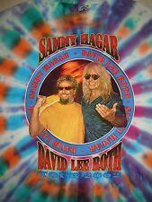 Vintage Concert T-Shirt SAMMY HAGAR DAVID LEE ROTH 02 VAN HALEN  NEVER WORN