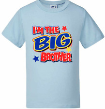 Kids t-shirts Funny Baby tees Boys t-shirts Pregnancy Announcement  BIG BROTHER