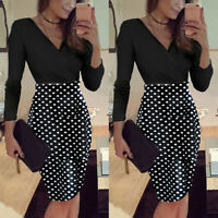 Elegant Women Business Office Work Formal Skirts Evening Party Bodycon Dresses