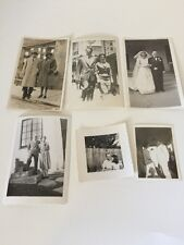 Lot Of 6 Black And White Photos 40's 50's Couples