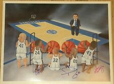 UK Kentucky Wildcats Baby Print Kiddy Kats 16x20 Autographed signed