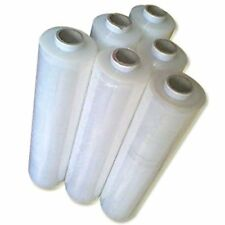 3 X STRONG ROLLS-CLEAR PALLET STRETCH SHRINK WRAP CAST PARCEL PACKING CLING FILM