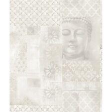670100 Arthouse Enlighten Floral Buddha Motif Glitter Wallpaper SALE ITEM
