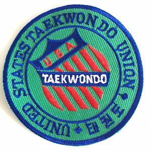 United States TAEKWON DO Union Patch USA TAEKWONDO