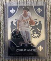 2019-20 Panini Chronicles Cameron Johnson Crusade RC Rookie Card #538 PHX Suns