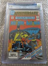 BRAVE AND THE BOLD #200 CGC 9.8 1ST Appearance KATANA & The Outsiders (G003)