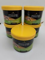 5 Lincoln Witch Hazel & Arnica Gel Horse Pony Soothing Tired Muscles Bruise 400g