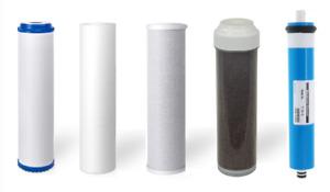 5 Stage Replacement Filters 75 GPD Membrane Aquarium Reverse Osmosis Water  RODI