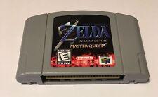 Legend Of Zelda Ocarina Of Time Master Quest N64