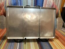 Vintage� Wendell August Forge Hammered Aluminum Tray Trout � on Handle Nice!