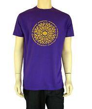 Mandala psychedelic Mens T-Shirt Short Sleeve 100% Cotton Graphic BLACK FRIDAY