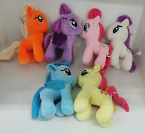 My little Pony Plush toy stuffed toy 25cm tall 6 Colours Plush toys AU stock Unb