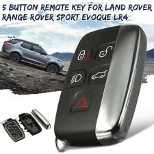 5 Buttons Remote Key Case Shell FOB For Land Rover Range Rover Sport LR4 Evoque
