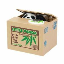 Salvadanaio Elettrico, Giocattolo da Bambini Panda Furbo - Prende le monete