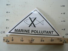 STICKER,DECAL LARGE STICKER MARINE POLLUTANT NO FISHING