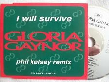 "Gloria Gaynor I will survive (Phil Kelsey Remix/orig. 12"") [Maxi-CD]"