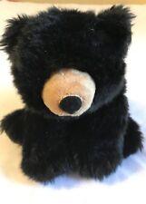 Great Smoky Mountains Teddy Bear  Wild Republic Black Plush Doll Soft Bean Bag