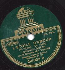 Lucienne Boyer singt Chansons : L`etoile D`amour  + Si Petite