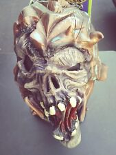 Scary Zombie Monster Mask WAR Rubies Adult Vinyl Mask