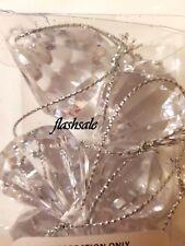 12 Crystal Jewel Decorations Acrylic Diamond Hanging Christmas Tree Decorations