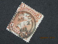 "(5-scan)..1868 Canada ""Toronto, Ont."" SON cancel/cds/postmark, Large Queen,Sc#25"
