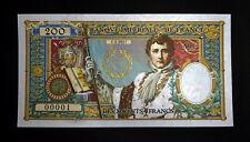 200 FRANCS - BANQUE IMPERIALE DE FRANCE - BICENTENAIRE DE LA MORT DE NAPOLEON