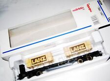MARKLIN  HO art. 46281 Flat Car Lanz
